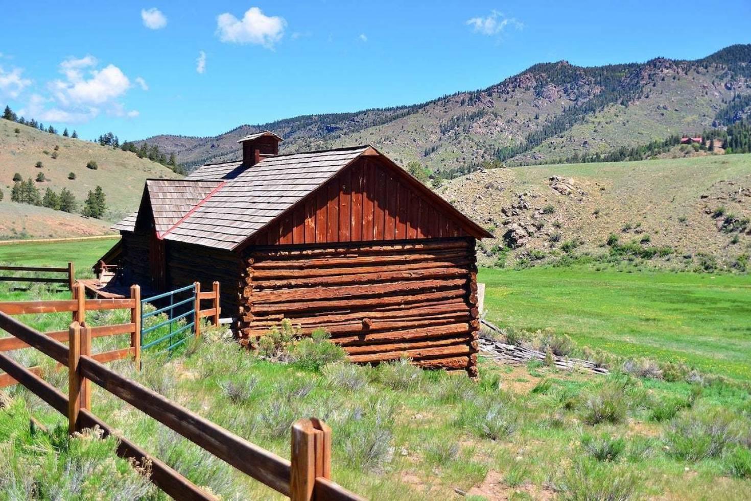 Choose Land Build Home Cabin