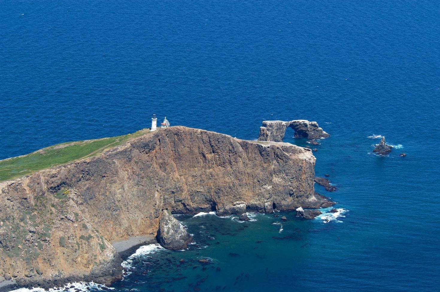 Anacapa Island in Channel Islands National Park
