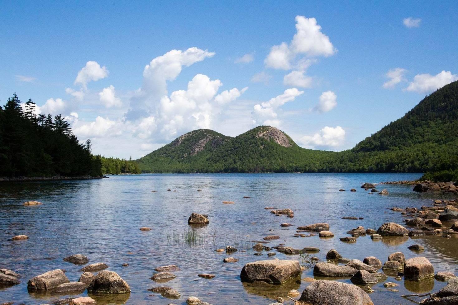 Jordan Pond in Acadia National Park