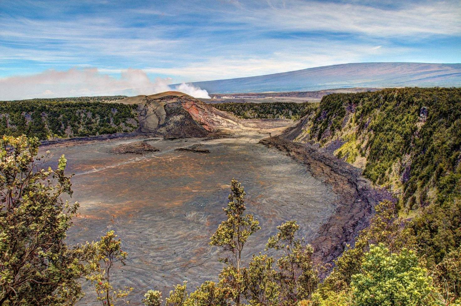 Kilauea Crater in Volcanoes National Park