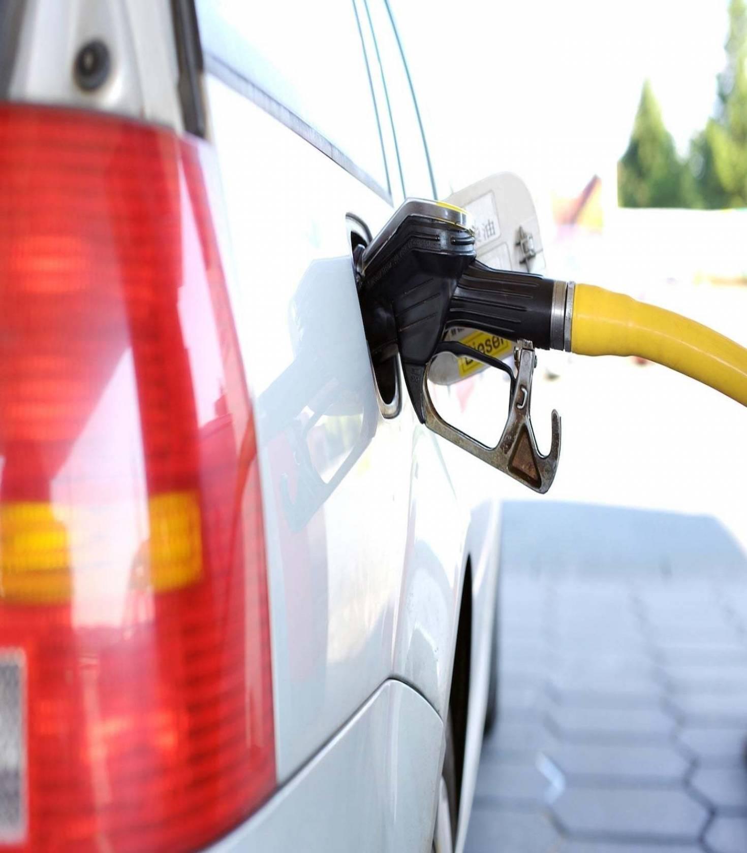 Oil Used In Refueling Car