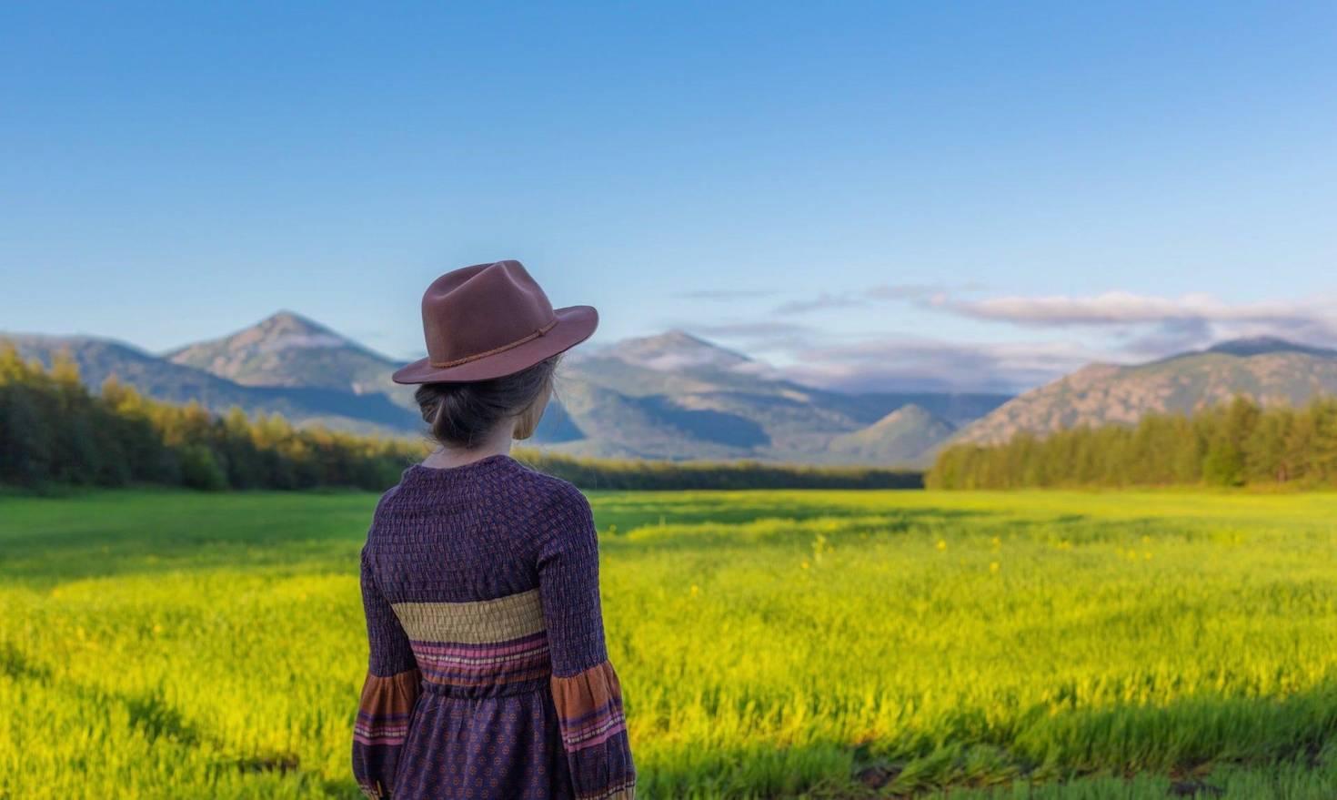 Overlooking Land
