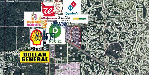 42.7 Acres of Commercial Land for Sale in Homosassa, Florida