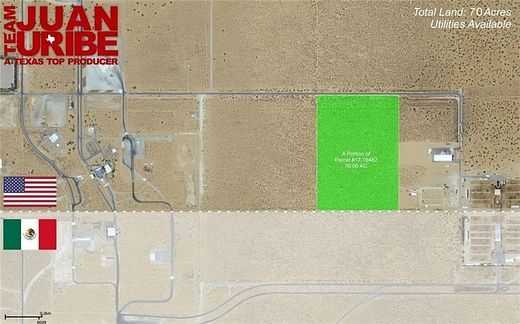 70 Acres of Mixed-Use Land for Sale in Santa Teresa, New Mexico