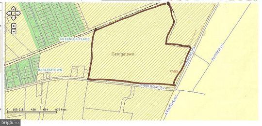 38.1 Acres of Mixed-Use Land for Sale in Georgetown, Delaware