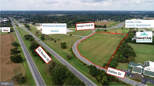 6.2 Acres of Commercial Land for Sale in Salisbury, Maryland