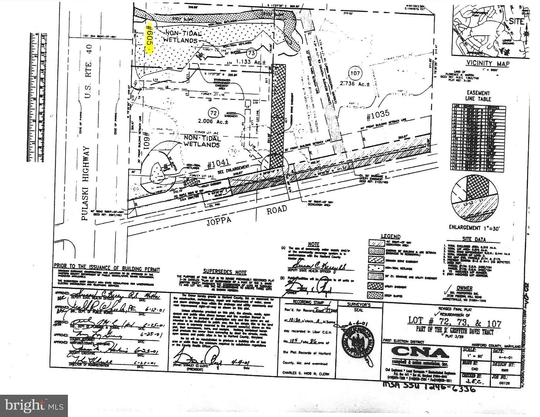 1.1 Acres of Commercial Land for Lease in Joppa, Maryland