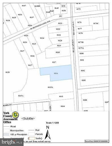 0.26 Acres of Commercial Land for Lease in Stewartstown, Pennsylvania