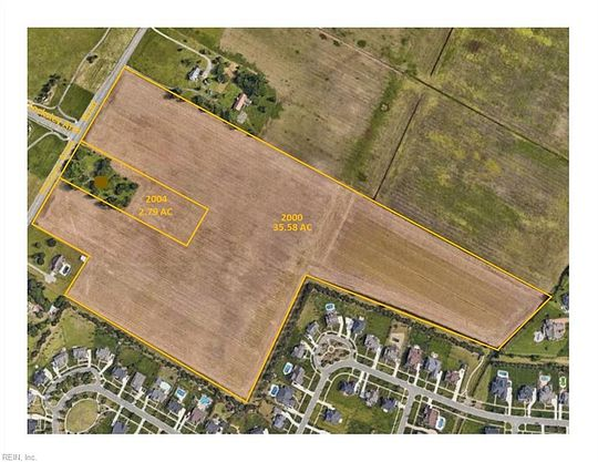 35.6 Acres of Agricultural Land for Sale in Virginia Beach, Virginia