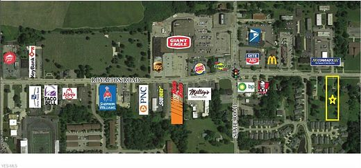 1.1 Acres of Improved Commercial Land for Lease in North Royalton, Ohio