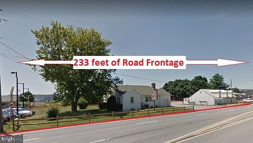 1.4 Acres of Commercial Land for Lease in Frederick, Maryland