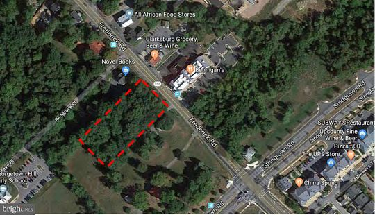 1 Acre of Mixed-Use Land for Sale in Clarksburg, Maryland